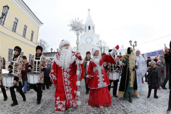 Рождественский тур в Казань из Волгограда