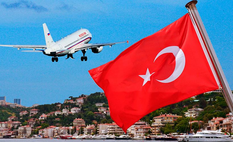 В Турцию на регулярных и чартерных рейсах